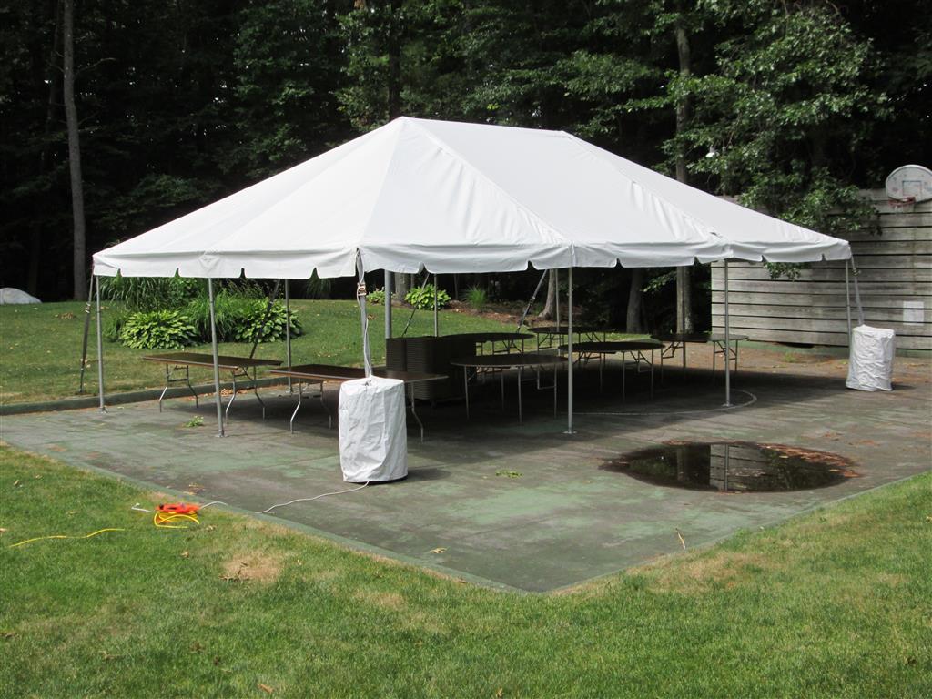 20 X 30 Frame Tent Romeo Party Rental